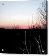 Sunset In Door County Acrylic Print