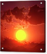 Sunset In Egypt 9 Acrylic Print