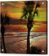 Sunset In Florida Acrylic Print