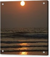 Sunset In Goa-2 Acrylic Print