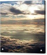 Sunset In Heaven Acrylic Print