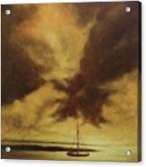 Sunset In Jamaica Acrylic Print