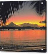 Sunset In Key West Florida Acrylic Print