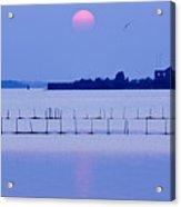 Sunset In Laguna Acrylic Print