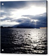 Sunset In Madeira Acrylic Print