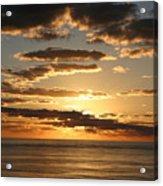 Sunset In Mexico Acrylic Print