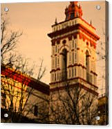 Sunset In Seville - San Roque Acrylic Print