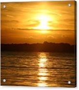 Sunset In Shelter Island  Acrylic Print