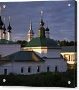 Sunset In Suzdal Acrylic Print