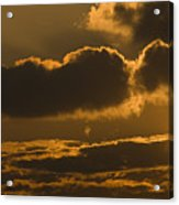 Sunset In The Heavens Acrylic Print