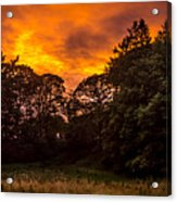 Sunset In The Shire Acrylic Print