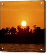 Sunset In Ventura Acrylic Print