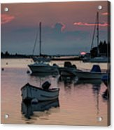 Sunset In West Falmouth Acrylic Print
