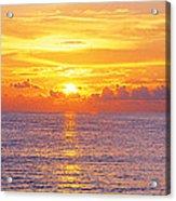 Sunset, Indian Rocks Beach, Florida, Usa Acrylic Print