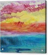Sunset Lagoon Acrylic Print
