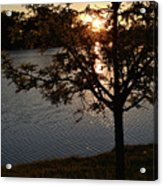Sunset Lake Acrylic Print