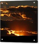 Sunset M 106 Acrylic Print