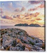 Sunset Malgrats Islands Acrylic Print