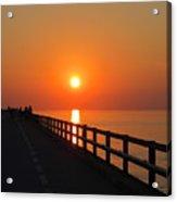 Sunset Marathon Acrylic Print