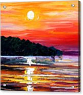 Sunset Melody Acrylic Print