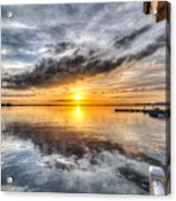 Sunset Mirroracle Acrylic Print