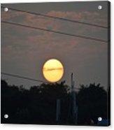 Sunset Moment Acrylic Print