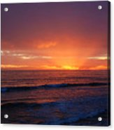 Sunset Near Carpinteria Acrylic Print
