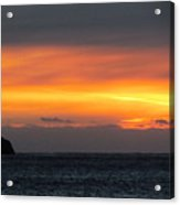 Sunset Near Doubtful Sound Acrylic Print