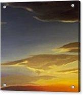 Sunset Near Rowlett Acrylic Print
