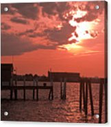 Sunset Newport Rhode Island Acrylic Print