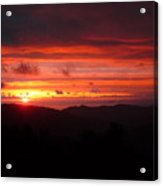 Sunset No.7 Acrylic Print