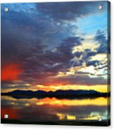 Sunset Of Colors Acrylic Print