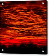 Sunset Of New Mexico Acrylic Print by Savannah Fonner
