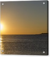Sunset Off Of Cape May Acrylic Print
