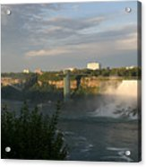 Sunset On American Falls 2 Acrylic Print
