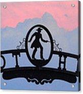 Sunset On Boot Hill Acrylic Print