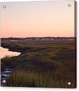 Sunset On Broad Creek Hilton Head South Carolina Acrylic Print