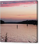 Sunset On C And D Acrylic Print