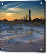 Sunset On Fire Island Acrylic Print