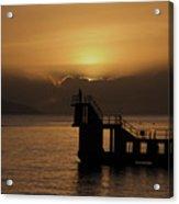 Sunset on Galway Bay Acrylic Print