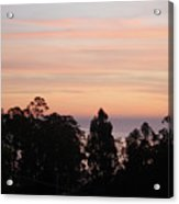 Sunset On Half Moon Bay  Acrylic Print