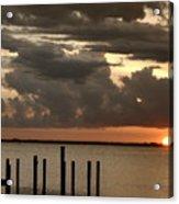 Sunset On Peace River Acrylic Print