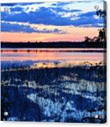 Sunset On Porcupine Lake Acrylic Print