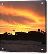 Sunset On Sanibel Acrylic Print