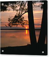 Sunset On Sister Bay Acrylic Print