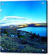 Sunset On Skaha Lake Acrylic Print