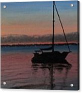 Sunset On St. Andrew Bay Acrylic Print