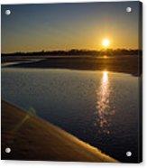 Sunset On St. Simons Island Acrylic Print