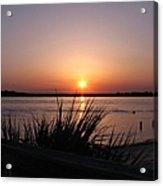 Sunset On The Atlantic  Acrylic Print