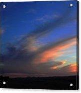 Sunset On The Brim Acrylic Print